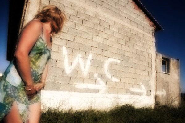 Donna WC sintomi incontinenza urinaria