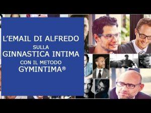 L'e-mail di Alfredo sul metodo Gymintima®